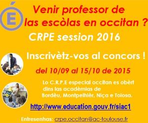 LATERAL1 300X250: VENIR PROFESSOR D'OCCITAN