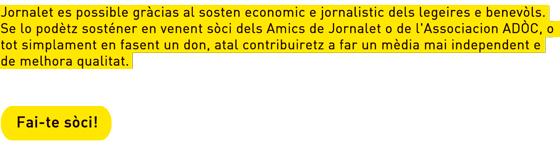 abonar los amics de Jornalet